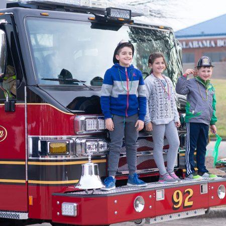 Dreamgate Events - Community - Kids on Firetruck Pelham Fire Department