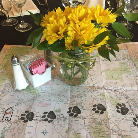 Dreamgate Events - Corporate Event Planning -Table Settings - Dogs